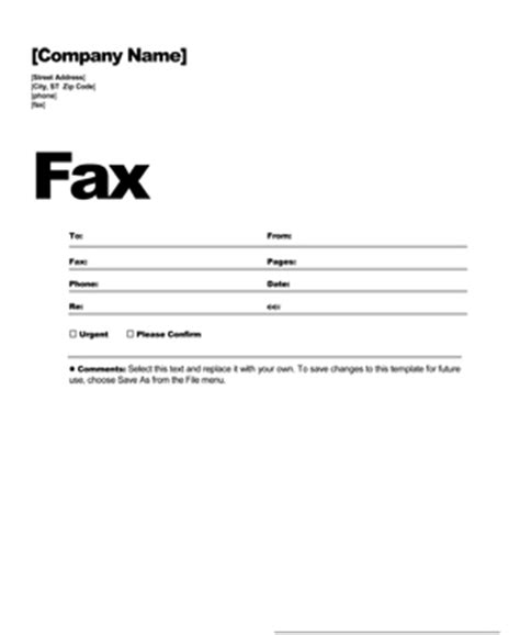 fax templates free free fax cover sheet