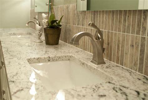 white ice granite bathroom white ice granite in the powder room decoist