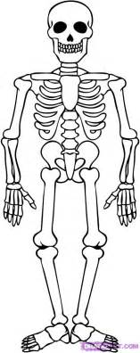 Skeleton Coloring Page skeleton coloring pages