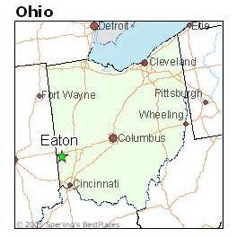Eaton Ohio Map by Best Places To Live In Eaton Ohio