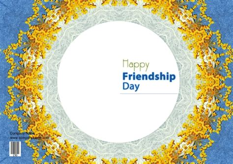 friendship day card greeting invitation cards