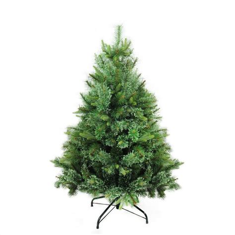 northlight 4 foot berrywood pine tree northlight 4 5 ft x 37 in mixed pine artificial tree 32265718 the