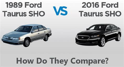small engine service manuals 1989 ford taurus electronic toll collection ford taurus sho 1989 vs 2016 comparison chart