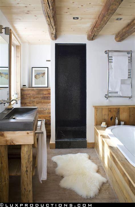 Rustic Modern Bathroom Designs   MountainModernLife.com