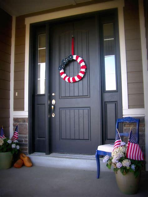 americana decorations americana decor ruffle wreath