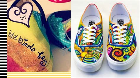 diy shoe painting diy painted shoes 2 minute tutorials