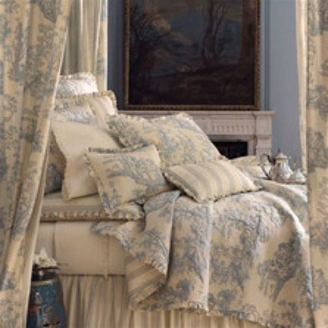 french country toile bedding french toile bed linens for the home pinterest