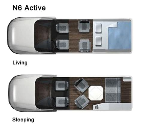 roadtrek floor plans 2014 roadtrek n6 active