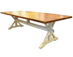 Oak Trestle Dining Table Oak Trestle Dining Table J Tribble