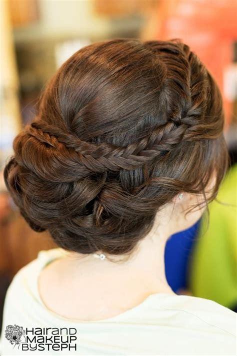 tutorial makeup natural ke kus fishtail braid updo hair pinterest fishtail braids