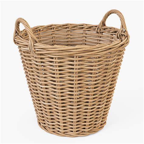 3d Wicker Basket Ikea Nipprig | 3d wicker basket ikea nipprig