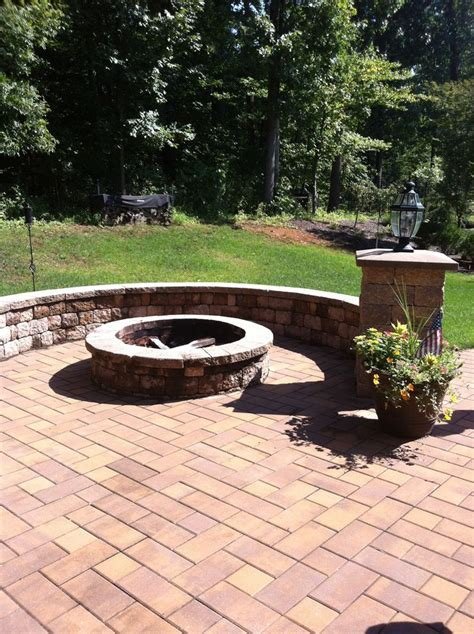 built in firepit discover and save creative ideas
