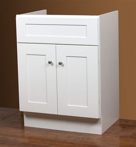 linen white 24x21 inch bath vanity base contemporary