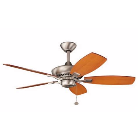 kichler 44 inch ceiling fan with five blades 300107ni