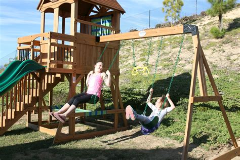 sams swing sets why we love our new swing set and giveaway it s a