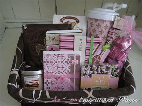office gift ideas girly office supply random pink gift basket gift