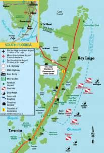 florida key map scuba 007 key largo travel notes