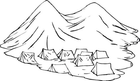 coloring pages of mountains coloring home
