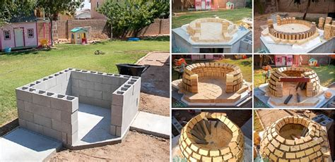 build a wood fired pizza oven in your backyard how to build a wood fired pizza oven home design garden
