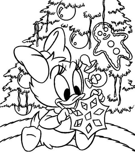 Dessin A Colorier De Noel Disney Coloriage A Imprimer
