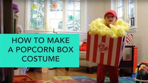 popcorn box costume easy diy halloween