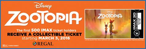 cineplex zootopia showtimes the poster posse partners with disney regal cinemas on
