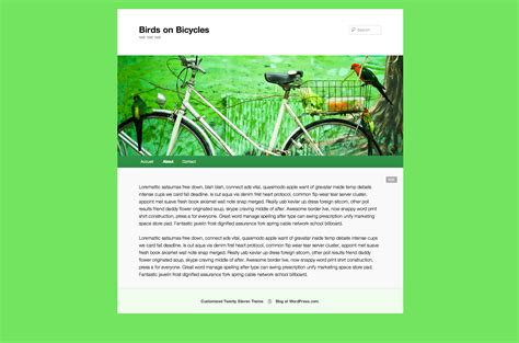 what color matches green bright green header color match wordpress com news