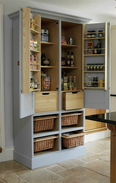 how to a pantry out of a bookcase best 25 free standing kitchen cabinets ideas on
