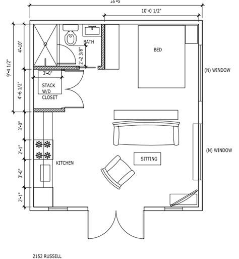 Garage Conversion Floor Plans by Cost Of A Garage Conversion To An Apartment Or Accessory