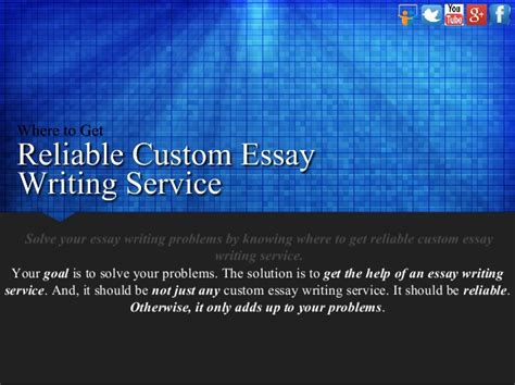 Essay Writing Service Co Uk by Where To Get Reliable Custom Essay Writing Service