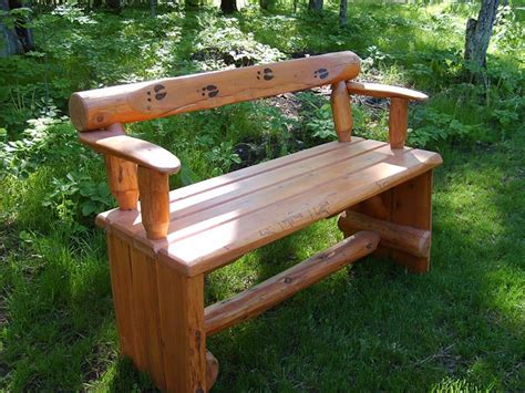 gallery benches burnt elk log decor outdoor benches tables photo gallery