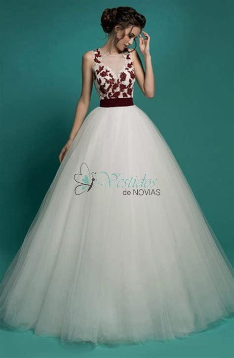 fotos vestidos de novia rojos santa clara vestido de novia blanco y rojo para el 2017