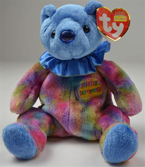 ty the beanie babies collection september bear 7 5 quot tall