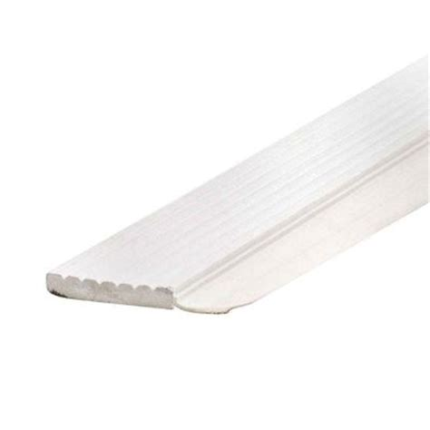 md building products 7 ft white dual vinyl top and side