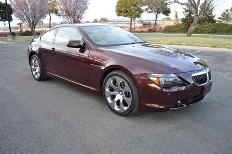how petrol cars work 2006 bmw 6 series auto manual sell used 2006 bmw 650ci sport pakge prem sound clean carfax 1 owner loaded in fremont