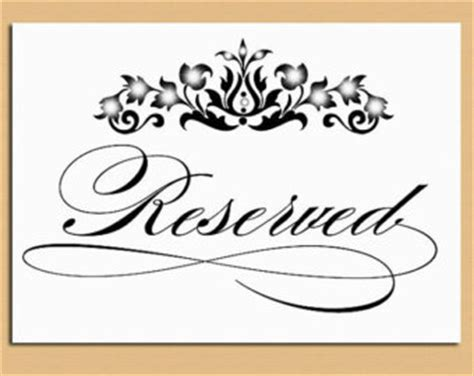 This Room Is Reserved Sign by 6 Best Images Of Room Reserved Sign Printable Conference