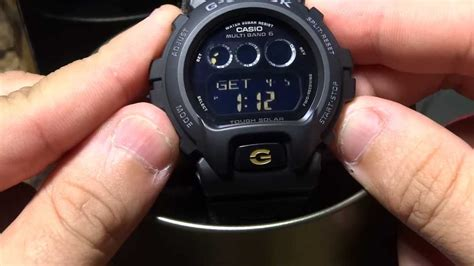 CASIO G SHOCK REVIEW AND UNBOXING GW 6900BC 1 BRACELET SOLAR ATOMIC   YouTube