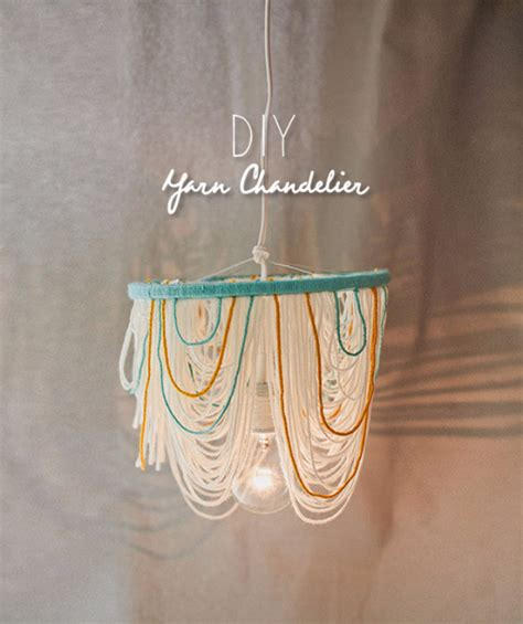 Chandelier Diy Ideas 35 Clever Diys Made With Yarn Page 6 Of 7 Diy