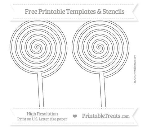 lollipop template swirl peppermint coloring page coloring pages