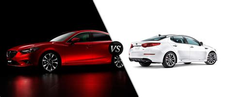 Kia Optima Base Model 2015 Mazda 6 Vs 2015 Kia Optima