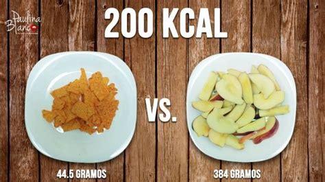 alimento meno calorico fotos comer saludable no significa comer poco