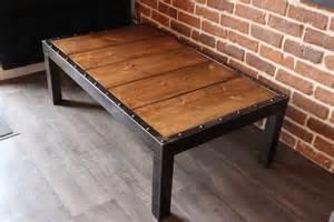 table basse industrielle meubles et rangements par la