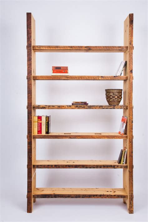 Handmade Wood Shelves - 16 cool handmade book shelf storage ideas