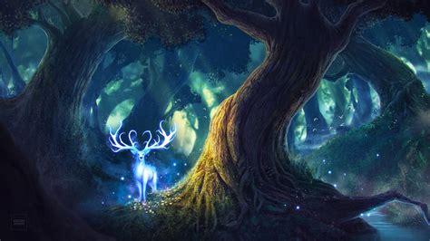 fairy deer  wallpapers hd wallpapers id