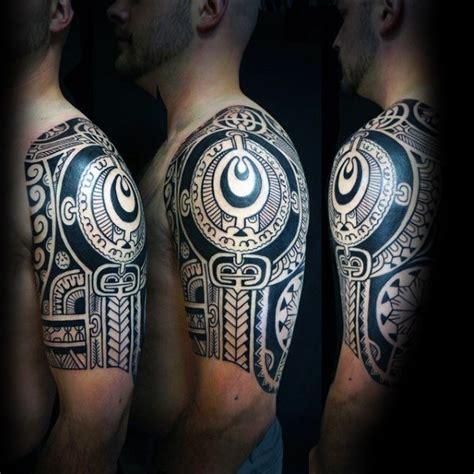103 brilliant sleeve tattoos ideas 103 great half sleeve tribal designs made on half