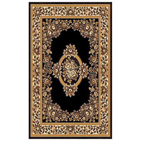 Area Rugs 6x9 Clearance 6x9 Donnieann 174 Concord Area Rug Black 215393 Rugs At
