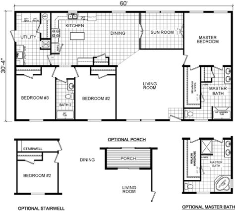 modular ranch floor plans ourcozycatcottage