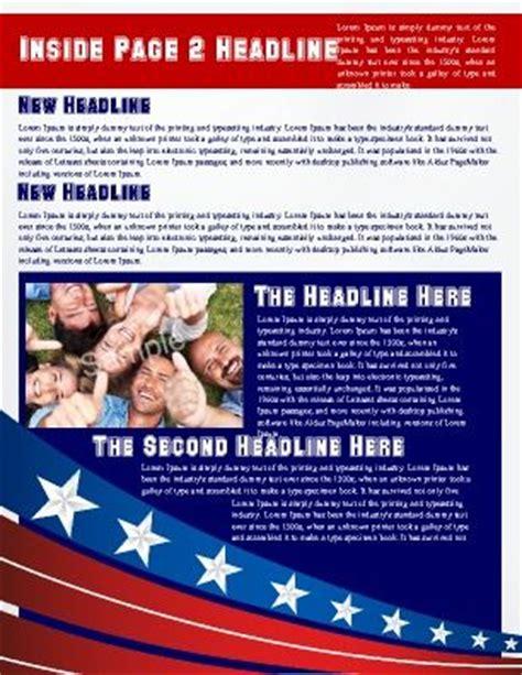 Political Newsletter Template by 17 Melhores Imagens Sobre Newsletter Templates No