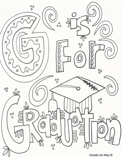 doodle graduation graduation coloring pages and printables classroom doodles
