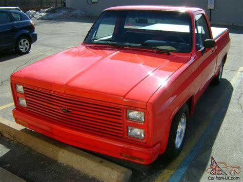 1985 chevrolet chevy 454 custom rod show truck